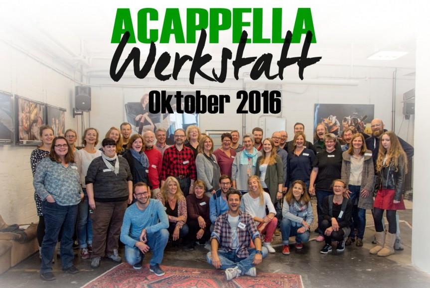 2. Acappella-Werkstatt – ein Erfahrungsbericht