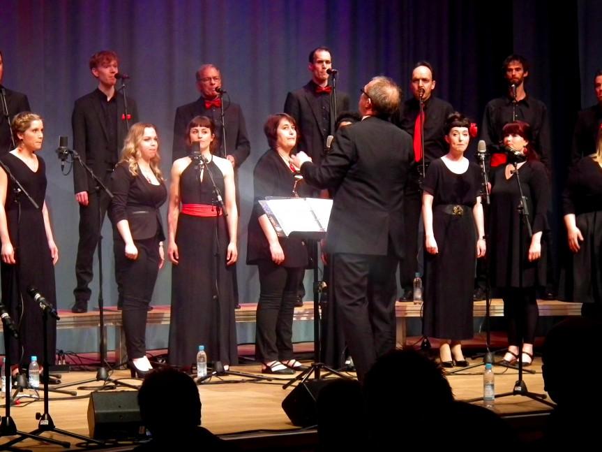 Jazzchor Freiburg – Acappella auf höchstem Niveau