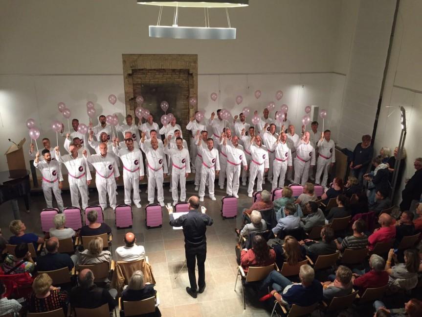 Schola Cantorosa  bei der Kulturnacht in Friedrichstadt