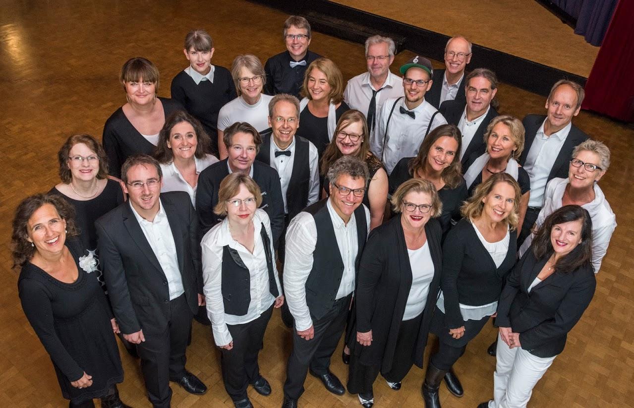 20 Jahre a-cappella Musik mit den Swingtonics
