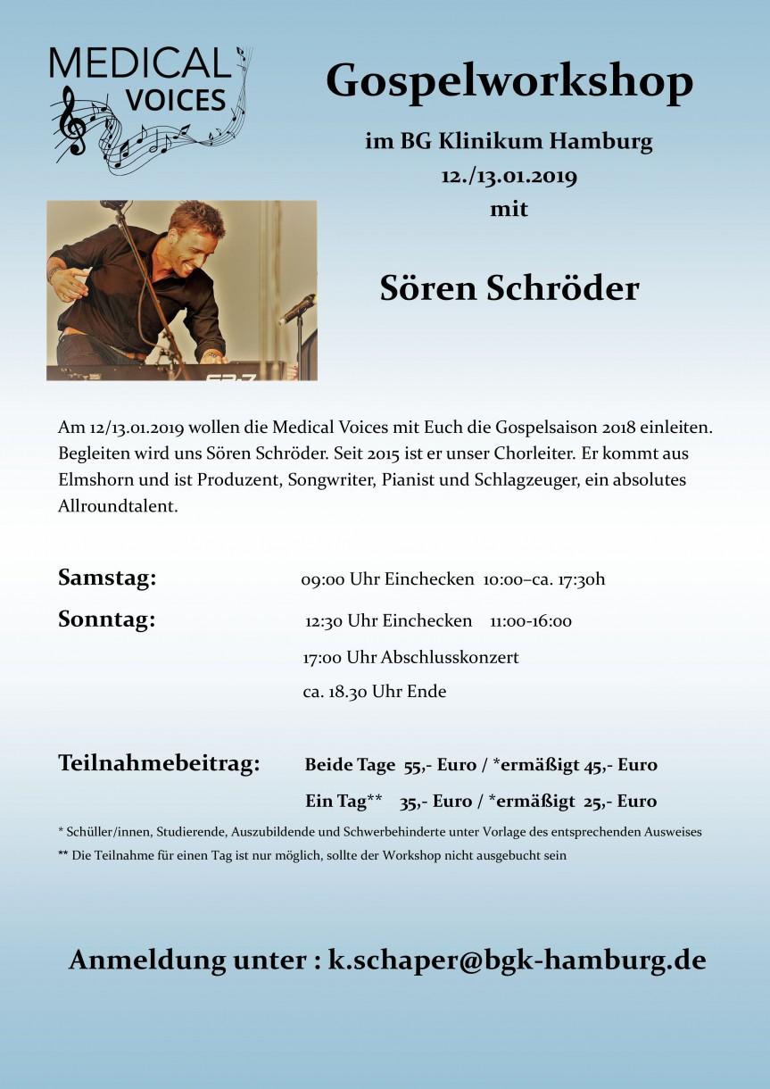 Januar-Workshop mit Sören Schröder