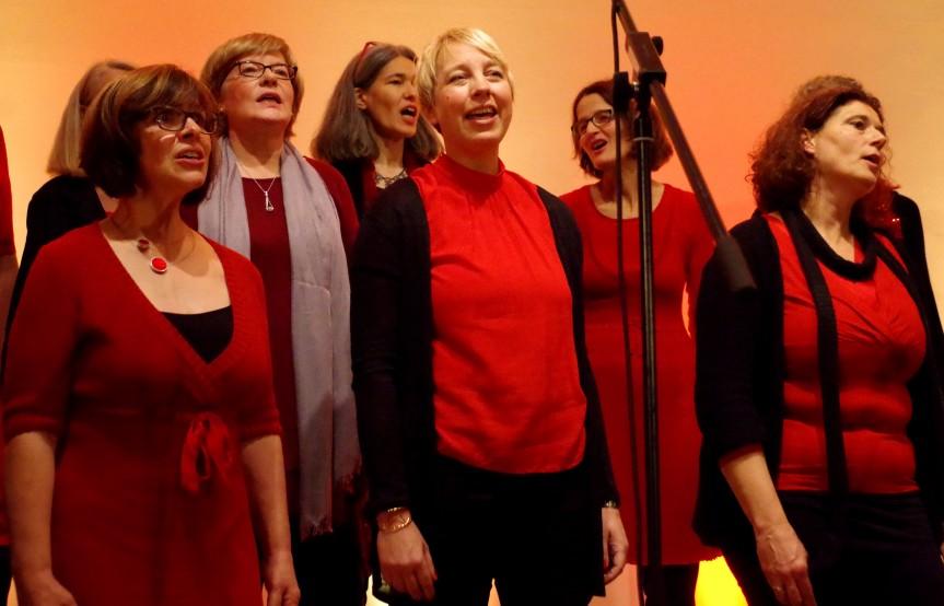 Vocalgarden läuten die Vorweihnachtszeit ein