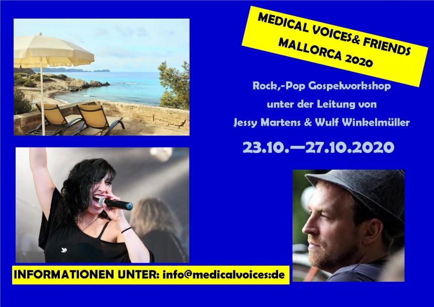 Rock/Pop-Gospelworkshop auf Mallorca 2020