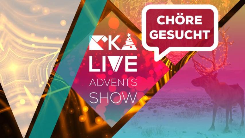 Chöre für KIKA LIVE Adventsshow gesucht