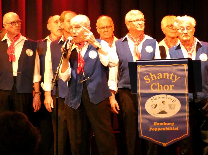 Shanty Chor der Henneberg Bühne Poppenbüttel auf der BiB