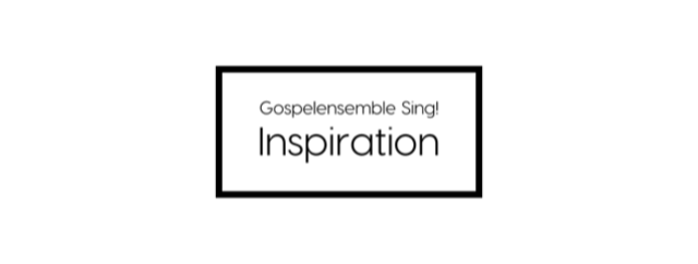 Sing! Inspiration – Come to join us!