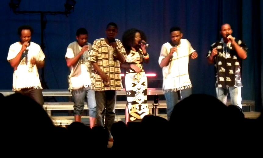 Standing Ovations für Africappella & Hamburg Voices
