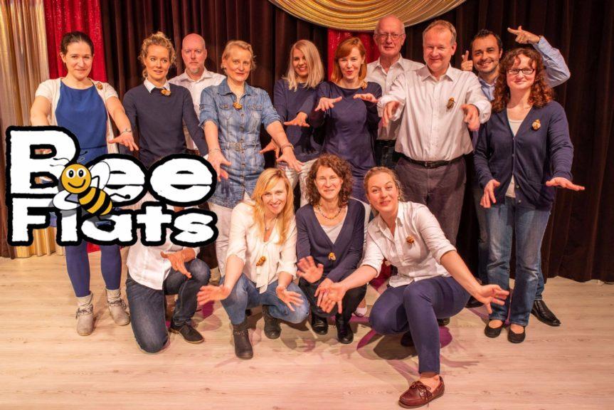 Das A-cappella-Ensemble The Bee Flats sucht Männerstimmen!