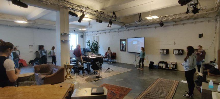 Hybridprobe bei den Hamburg Voices