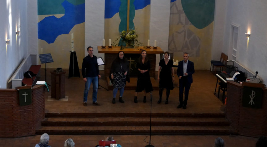 FiveUp – Konzert in der Paul Gerhardt Kirche Harburg