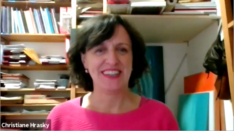 Interview mit Christiane Hrasky