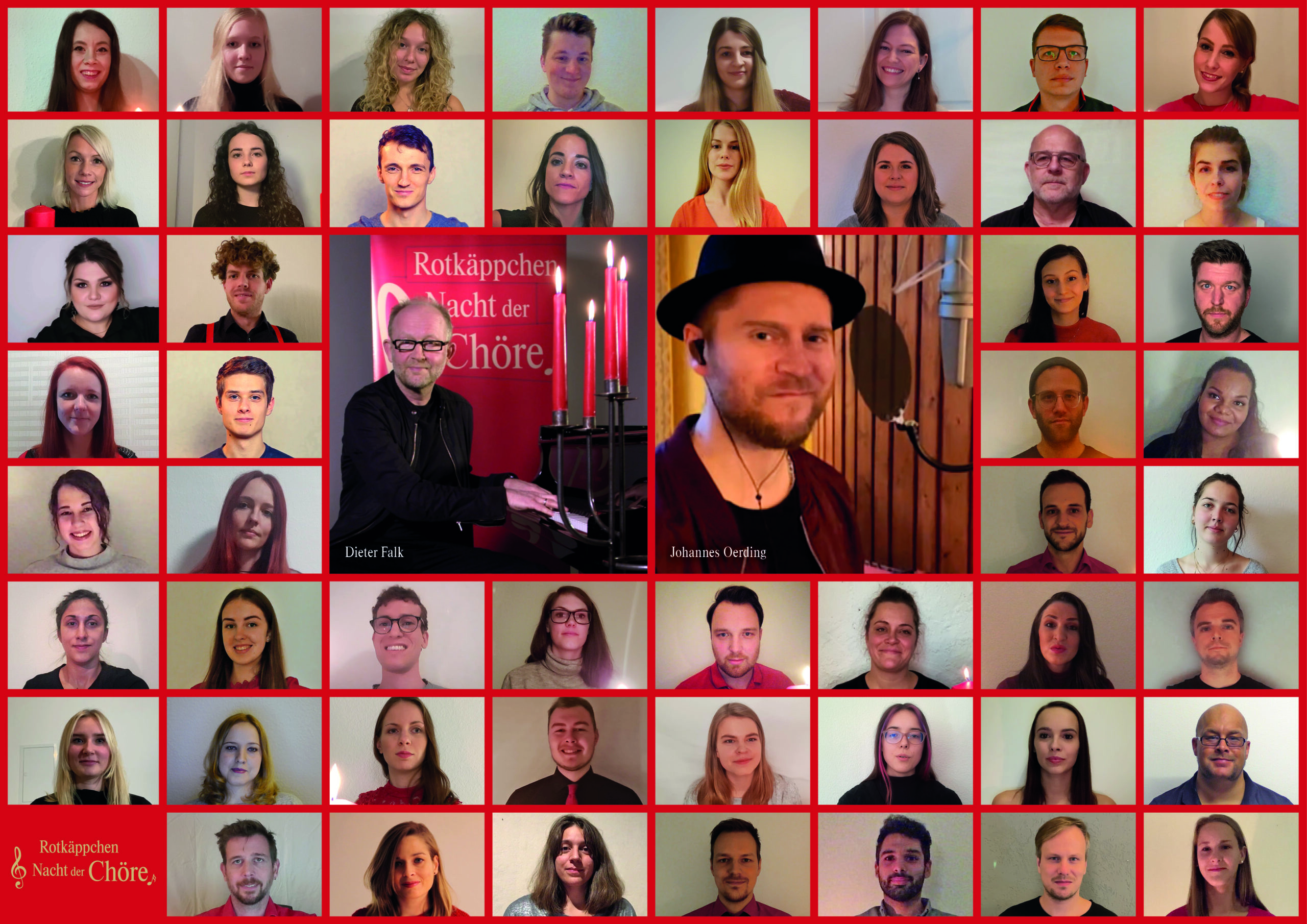 Rotkappchen Sorgt Mit Johannes Oerding Und Dieter Falk Fur Zuversicht Auf Besinnliche Feiertage Chorportal Hamburg