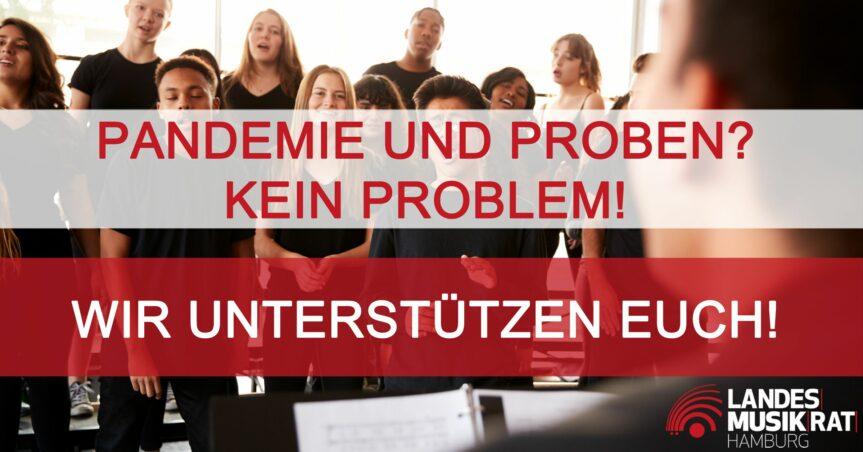 Die Behörde für Kultur und Medien und der Landesmusikrat Hamburg (LMR) unterstützen Hamburgs Chöre